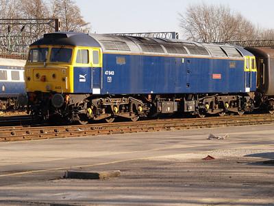 47843 Crewe Holding Sidings.