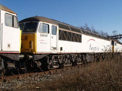Stored 56049 Crewe Diesel Depot.