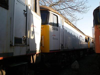 Stored 56106 Crewe Diesel Depot.