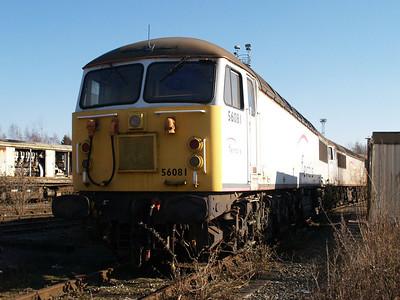 Stored 56081 Crewe Diesel Depot.
