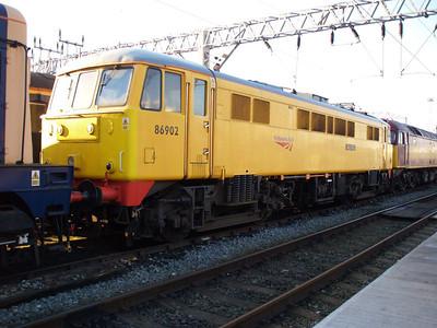 86902 outside LNWR Crewe.