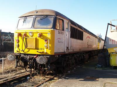 Stored 56105 Crewe Diesel Depot.