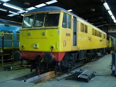 86901 inside LNWR Crewe.