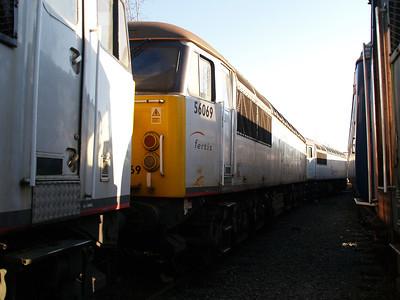 Stored 56069 Crewe Diesel Depot.