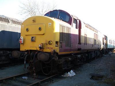 Stored 37426 Crewe Diesel Depot.
