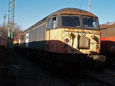 Stored 56109 Crewe Diesel Depot.