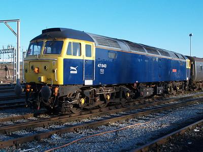 47843 on Crewe Holding Sidings.