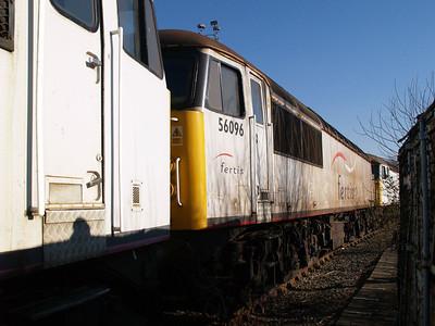 Stored 56096 Crewe Diesel Depot.