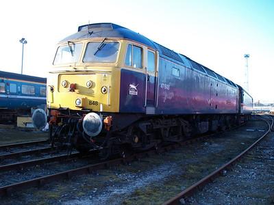 47848 on Crewe Holding Sidings.