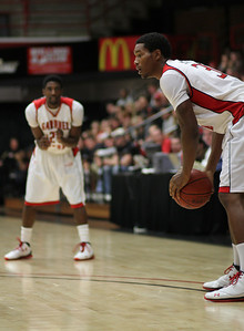 Gardner-Webb men's basketball scored a 78-42 victory over Virginia Intermont November 17, 2010 at Paul Porter Arena.
