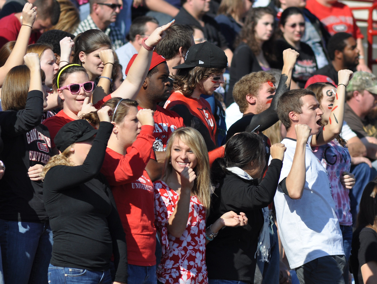 The Gardner-Webb Bulldogs finish the 2010 season with a 10-7 victory over VMI on November 20, 2010 for their senior day.