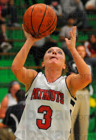 Eyes on the prize: Morgan Seely looks for an easy layup against Northview Thursday in their first round game in the Tip Off Tournament at West Vigo.