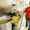 Chief cook: Rita Boswell is the primary cook for the Bethany House Thanksgiving meal Thursday afternoon. The soup kitchen had served about 40 meals at the time of the photo.