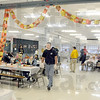 Dinner: St. Pat's hosted Joe Newport's annual Thanksgiving Day dinner Thursday afternoon. Several hundred people participated in the event.