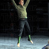 Dancing student: ISU student and dancer Daniel Bertram performs at North High School Thursday afternoon.