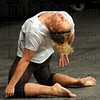 Performer: Annie Vassar, an Indiana State University dance student performs Thursday afternoon.