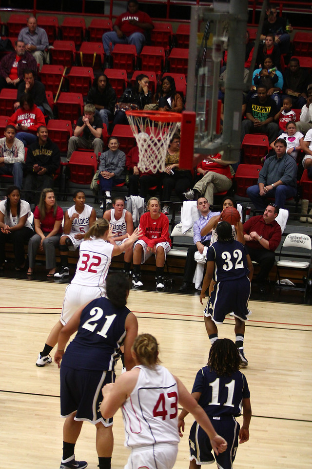 "GWU Lady Bulldogs vs. Montreat College ""photo by Bryan Cooper"""