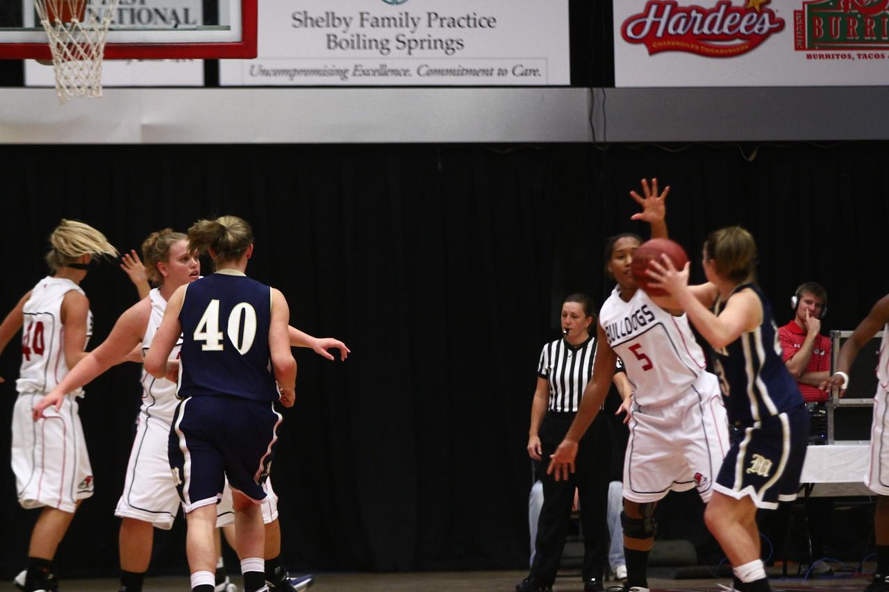 "GWU Lady Bulldogs vs. Montreat College ""photo by Bryan Cooper"""