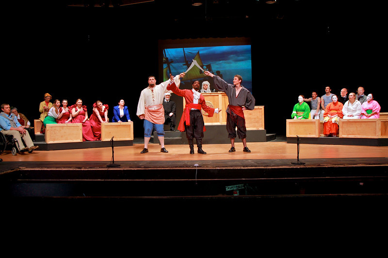 A Day at the Opera; Fall 2010.Gardner-Webb University Department of Fine Arts presents Trial By Jury, a Gilbert & Sullivan Extravaganza. November 3, 2010.