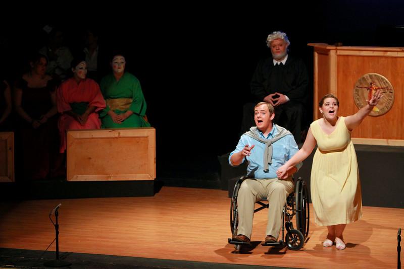 Gardner-Webb University Department of Fine Arts presents Trial By Jury, a Gilbert & Sullivan Extravaganza. November 3, 2010.