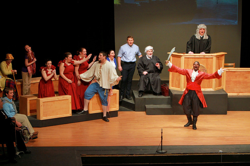 Gardner-Webb University Department of Fine Arts presents Trial By Jury, a Gilbert & Sullivan Extravaganza. November 3, 2010.
