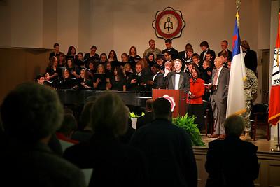 Higher Ground Campaign Kick-off; November 11, 2010. AM Prayer Service