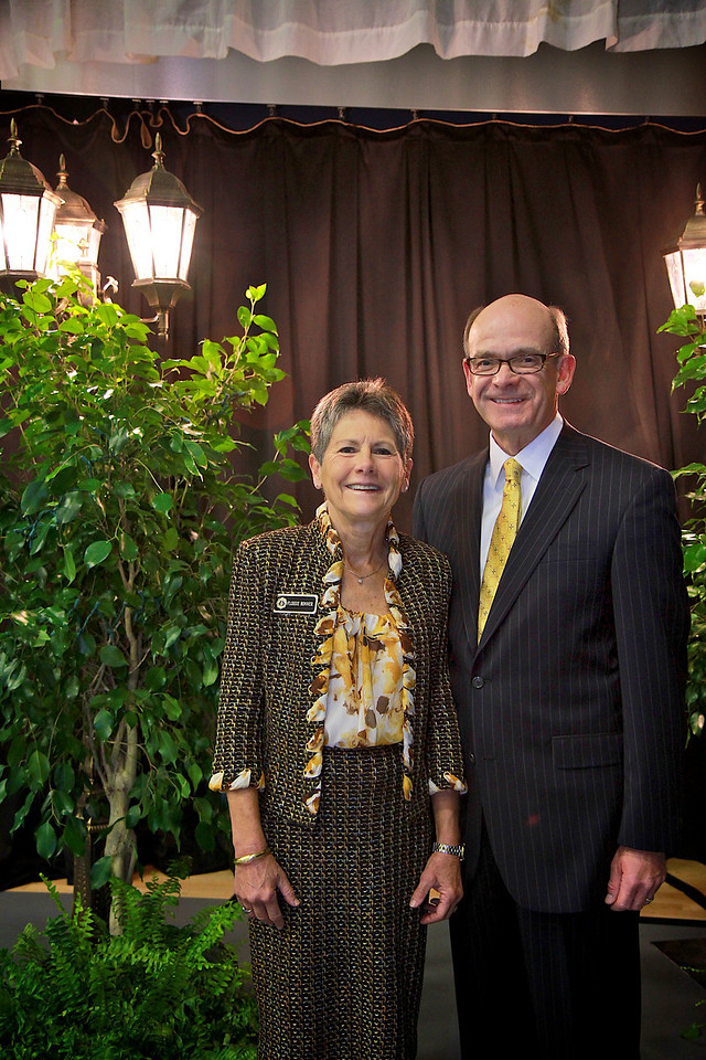 Dr. Frank Bonner and Mrs. Flossie Bonner. Scholarship Luncheon