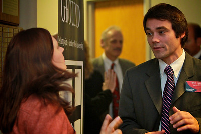 Higher Ground Campaign Kick-off; November 11, 2010. Coffee Reception in Fireside Lounge.