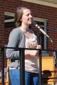 "A hightlight of the day, Jessica Greer, came out to sing some songs from her recently released EP, ""Jessica Marie."""