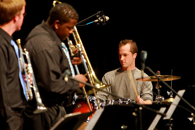 The GWU Jazz Band performs for students and community members; November 18, 2010.