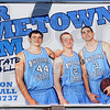 Touted: A billboard touting the local talent on the Sycamore mens' basketball team is seen along South 3rd street.