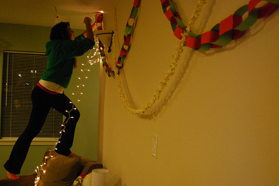 With less than three weeks until Christmas break, students decorate their dorms and suites to show their holiday spirit.