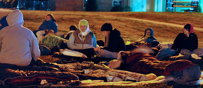 GWU students spend a night 'houseless' to raise awareness for the homeless
