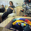 Ready to go: Rondha and Roy Youngs talk about their afghan mission from their northside apartment with Tribune-Star reporter Brian Boyce.