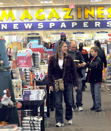 Reading materials: Books-a-Million estimates a fifteen percent increase in sales over last year for Black Friday.