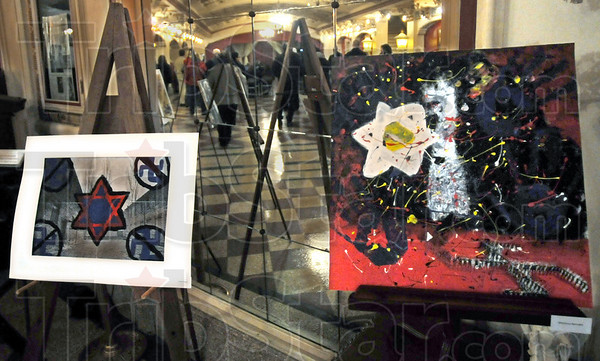 Art: Art produced by Vigo County school students was on display at the Indiana Theater Friday evening.