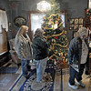 Collett Park: A Christmas tree welcomes participants in the annual Collett Park Christmas Walk Saturday morning at Arlene Jennings' 2324 N. 10th Street home.