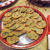 Treats: Delicious cookie treats greet visitors to Arlene Jennings' Collett Park area home Saturday as part of the annual Collett Park Christmas Walk.