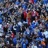 Touchdown: ISU fans celebrate a Sycamore touchdown.