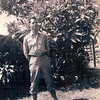 Photo 1<br /> Lewis R. Shaw is shown in Hawaii at age 18, where he was assigned to the 27th Infantry Division, 165th Regiment, Company H, a heavy machine gun company. He was stationed at Schofield Barracks on Oahu, Hawaii.