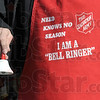 Bell: Detail photo of a Bell Ringer at Baesler's Market Wednesday afternoon as the annual campaign kicks off.