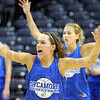 Ball: Taylor Whitley works on a defensive drill during Wednesday's practice at Hulman Center.