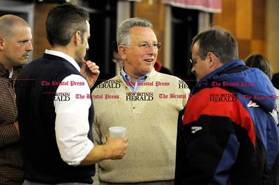11/2/2010 Mike Orazzi | Staff Rich Covello at the Bristol Polish Club on Tuesday night.