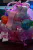 Sarah, Anna, Tiyona, and Sam made a diaper cake