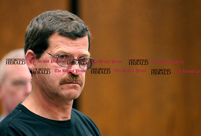 6/2/2009 Mike Orazzi | Staff Robert Park during his arraignment on Tuesday in Bristol Superior Court.