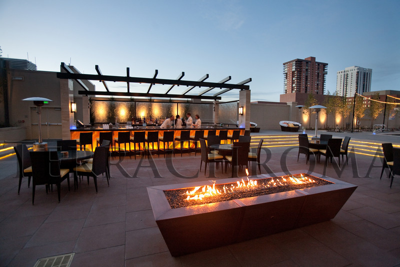 "(Denver, Colorado, Nov. 6, 2010)<br /> On the third-floor pool deck.  Four Seasons Hotel Denver hosts its grand opening party, themed ""Four Seasons Embraces Colorado,"" benefiting The Denver Center for Performing Arts, The Denver Zoo, The Kempe Foundation, and The University of Colorado Hospital Foundation, at the Four Seasons Hotel Denver in Denver, Colorado, on Saturday, Nov. 6, 2010.<br /> STEVE PETERSON"
