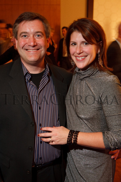 "(Denver, Colorado, Nov. 6, 2010)<br /> Mike Hardin (on the FSHD construction management owner/representative team) and his wife, Kathy.  Four Seasons Hotel Denver hosts its grand opening party, themed ""Four Seasons Embraces Colorado,"" benefiting The Denver Center for Performing Arts, The Denver Zoo, The Kempe Foundation, and The University of Colorado Hospital Foundation, at the Four Seasons Hotel Denver in Denver, Colorado, on Saturday, Nov. 6, 2010.<br /> STEVE PETERSON"