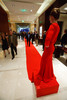 "(Denver, Colorado, Nov. 6, 2010)<br /> Rose's dress is one with the red carpet entrance.  Four Seasons Hotel Denver hosts its grand opening party, themed ""Four Seasons Embraces Colorado,"" benefiting The Denver Center for Performing Arts, The Denver Zoo, The Kempe Foundation, and The University of Colorado Hospital Foundation, at the Four Seasons Hotel Denver in Denver, Colorado, on Saturday, Nov. 6, 2010.<br /> STEVE PETERSON"