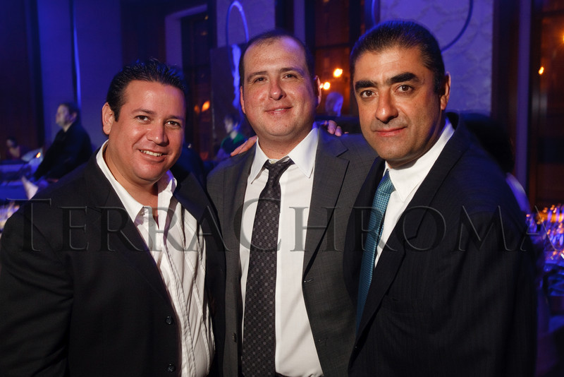 "(Denver, Colorado, Nov. 6, 2010)<br /> Luis Garcia, Alvaro Flores, and Mitchell Kuda.  Four Seasons Hotel Denver hosts its grand opening party, themed ""Four Seasons Embraces Colorado,"" benefiting The Denver Center for Performing Arts, The Denver Zoo, The Kempe Foundation, and The University of Colorado Hospital Foundation, at the Four Seasons Hotel Denver in Denver, Colorado, on Saturday, Nov. 6, 2010.<br /> STEVE PETERSON"