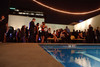 "(Denver, Colorado, Nov. 6, 2010)<br /> Poolside outdoors on the third floor.  Four Seasons Hotel Denver hosts its grand opening party, themed ""Four Seasons Embraces Colorado,"" benefiting The Denver Center for Performing Arts, The Denver Zoo, The Kempe Foundation, and The University of Colorado Hospital Foundation, at the Four Seasons Hotel Denver in Denver, Colorado, on Saturday, Nov. 6, 2010.<br /> STEVE PETERSON"